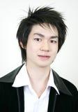 Individuo asiático joven fresco Fotografía de archivo libre de regalías