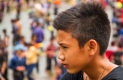 Individuo asiático lindo Foto de archivo