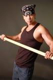 Individuo asiático resistente Foto de archivo libre de regalías
