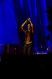 Individuo Berryman de Coldplay fotos de archivo