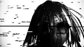 Individuo de Digitaces Punker Fotografía de archivo libre de regalías
