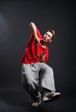 Individuo de Hip-hop Foto de archivo