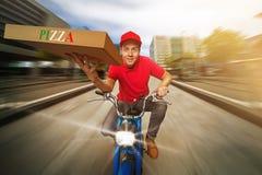 Individuo de la pizza Foto de archivo libre de regalías
