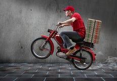 Individuo de la pizza Fotos de archivo
