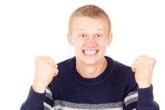 Individuo de las emociones Imagen de archivo libre de regalías