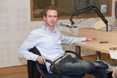 Individuo de radio Fotos de archivo