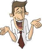 Individuo de risa Foto de archivo libre de regalías