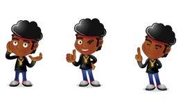 Individuo 2 del Afro Imagen de archivo