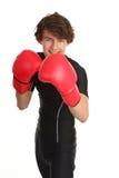 Individuo del boxeo foto de archivo