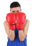 Individuo del boxeo imagenes de archivo