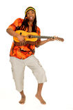 Individuo del reggae de Rasta Fotos de archivo