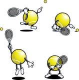 Individuo del tenis Imágenes de archivo libres de regalías