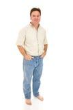 Individuo descalzo ocasional Foto de archivo