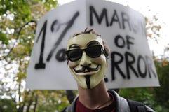 Individuo Fawkes Fotografía de archivo libre de regalías