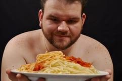Individuo gordo Foto de archivo libre de regalías