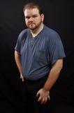 Individuo gordo Imagenes de archivo