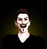 Individuo insano Fawkes Imagenes de archivo