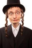 Individuo judío feliz Imagen de archivo libre de regalías
