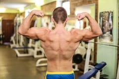 Individuo muscular hermoso Foto de archivo