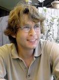 Individuo rubio Foto de archivo