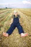 Individuo rural fotografía de archivo