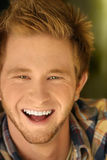 Individuo sonriente Imagen de archivo