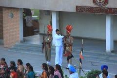 Indo-Pak Border-5. Stock Image