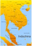 Indochina Royalty Free Stock Photo