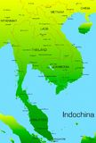 Indochina Stock Photo