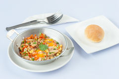 Indochina Omelette Stock Photo