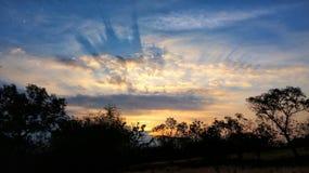 Indomesia van de aardwestjava van de zonsopgangaarde Royalty-vrije Stock Foto