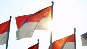 Indonésia embandeira o voo no polo