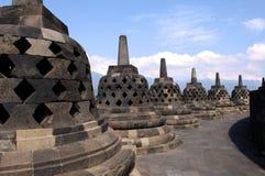 Indonésia, Java, Borobudur: Templo Imagem de Stock Royalty Free
