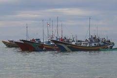Indonésia: Pescador em Aceh Imagem de Stock