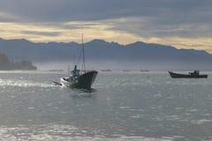Indonésia: Pescador em Aceh Foto de Stock