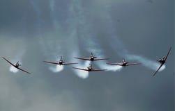 Indonésia Team Jupiter Aerobatic Fotografia de Stock Royalty Free