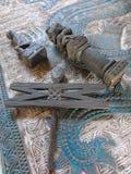 Indones handcraft royaltyfria foton