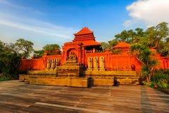 De tempel van dageraad royalty-vrije stock foto's
