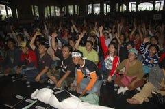 INDONESIË OM RENTEVOET TE SNIJDEN stock fotografie