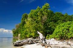 Indonesië, Sulawesi. De eilanden van Togean Royalty-vrije Stock Afbeeldingen