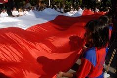 INDONESIË WENST MEER GEKWALIFICEERDE LERAAR Stock Foto
