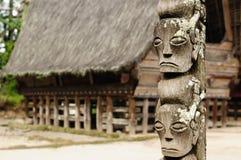 Indonesië, het Noorden Sumatra, Danau Toba Stock Foto