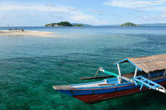 indonesia öar togean sulawesi Royaltyfria Foton
