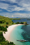 Indonesia. Komodo National Park - paradise islands for diving and exploring. The most populat tourist destination in Indonesia, Nusa tenggara Stock Image
