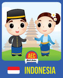 Indonesia AEC doll royalty free stock image