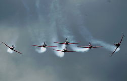 Indonesian Aerobatic Team Jupiter Royalty Free Stock Photography