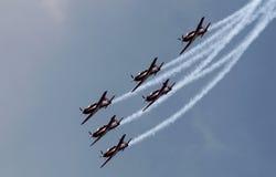 Indonesia Aerobatic Team Jupiter Stock Photo