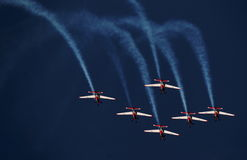 Indonesia Aerobatic Team Jupiter Royalty Free Stock Photography