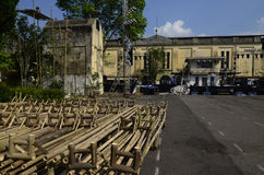 INDONESIA ANCIENT SUGAR FACTORY Stock Photography