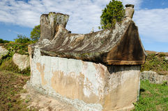 Indonesia, Ancient tomb Stock Image